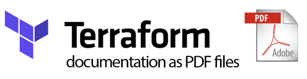 Terraform documentation as PDF files